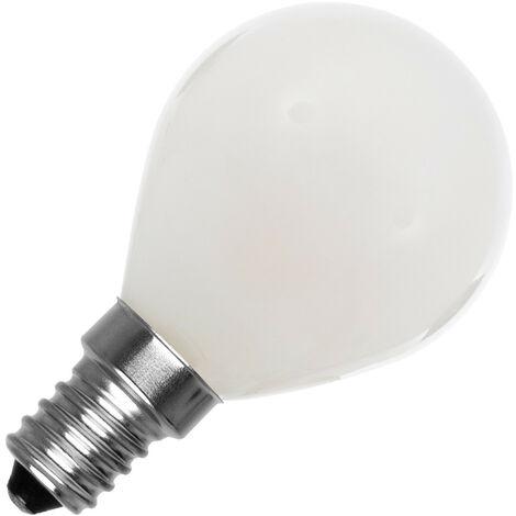Bombilla LED E14 G45 Esférica Glass 4W