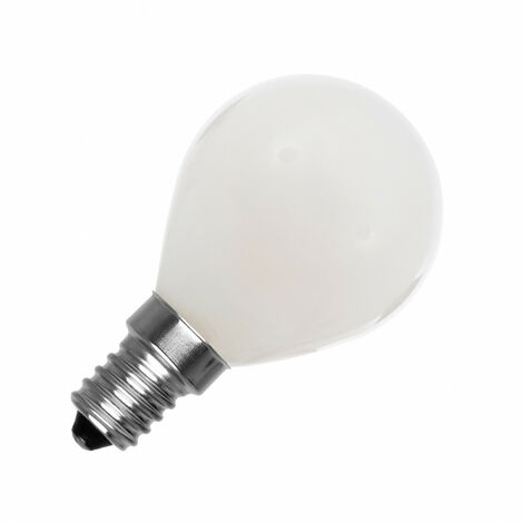 Bombilla LED E14 G45 Esférica Glass 4W