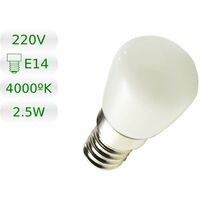 Bombilla LED E14 miniatura 2,5W blanco natural 4200K