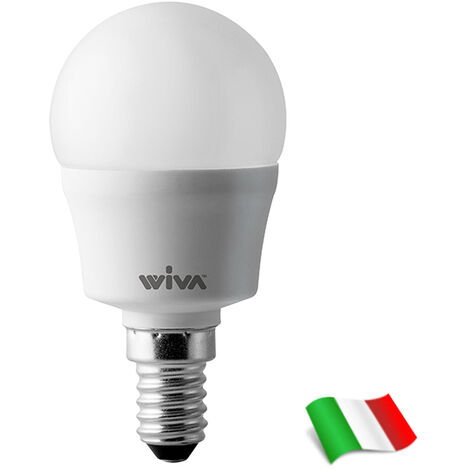 Bombilla LED E14 P45 4W 3000K° Wiva