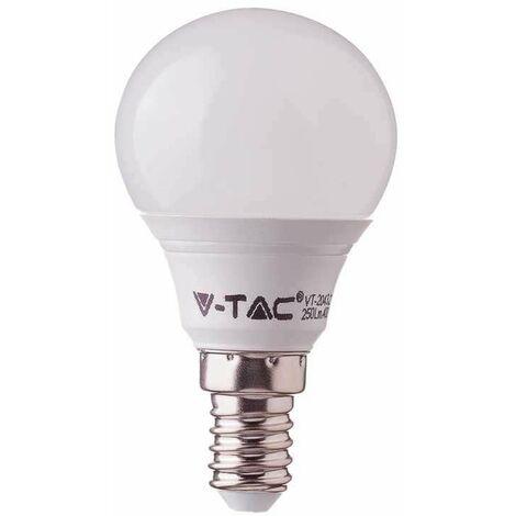 Bombilla LED E14 P45 Samsung 4.5W 180° V-TAC PRO Temperatura de color - 6400K Blanco frío
