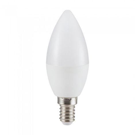Bombilla LED E14 V-TAC Vela C37 5.5W Temperatura de color - 2700K Blanco cálido
