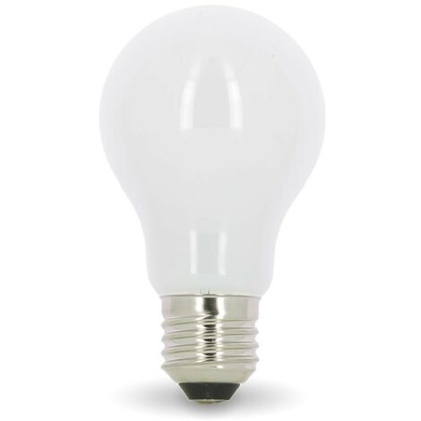 Bombilla LED E27 10W Eq 75W Vidrio Opalino