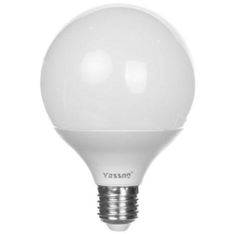 Bombilla LED E27 10W (G95) 700lm 3000K Yassno 381083