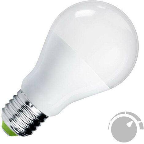 Bombilla LED E27, 180º, 12W, Regulable