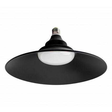 Bombilla LED E27 30W UFO Black Blanco Neutro 4000K | IluminaShop