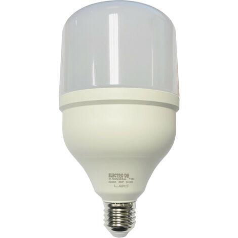 Bombilla LED E27 40W 230Vac 6500K T120