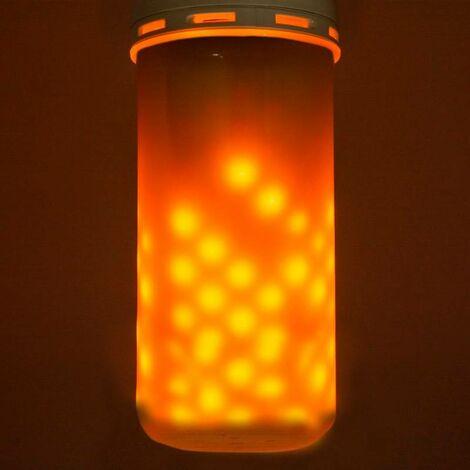 Bombilla LED E27 4.5W efecto llama de fuego
