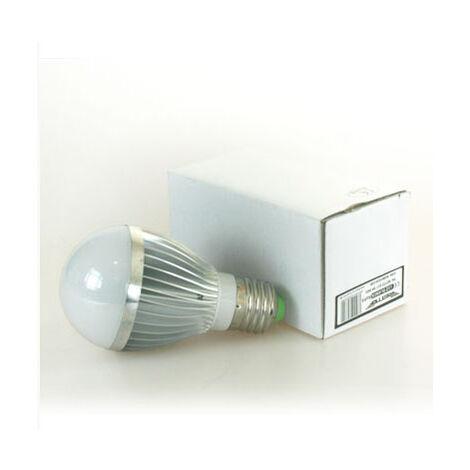 Bombilla led e27 5w redonda retto luz calida 220v 500 lumens luz color 400k
