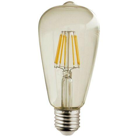 Bombilla LED E27 650 Lúmenes 2700K