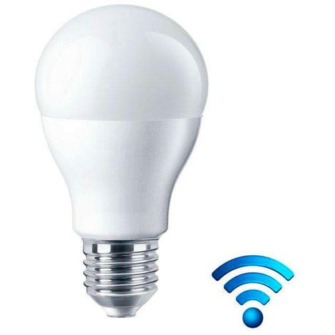 Bombilla led E27, 6W con Sensor Movimiento PIR, Blanco neutro