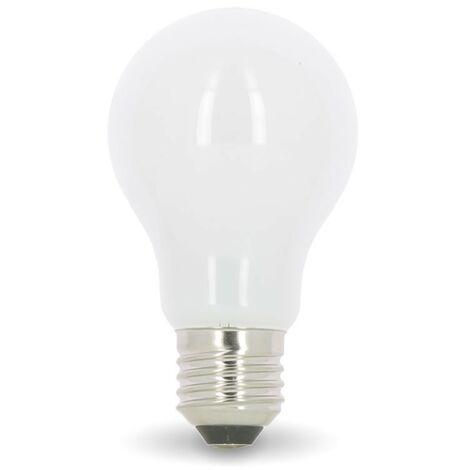 Bombilla LED E27 8W Eq 60W MAT Glass | Temperatura de color: Blanco cálido 2700K