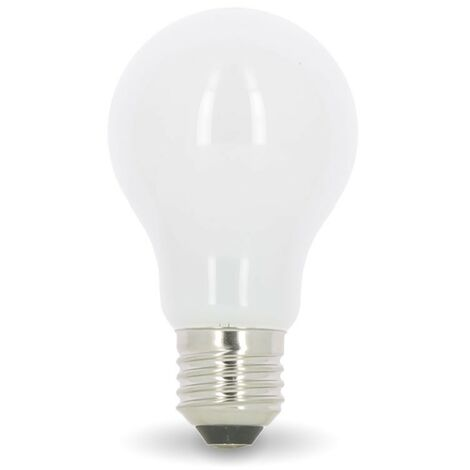 Bombilla LED E27 8W Eq 60W MAT Glass | Temperatura de color: 4000K blanco neutro