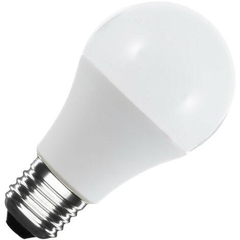 Bombilla LED E27 Casquillo Gordo A60 12/24V DC 6W Blanco Frío 6000K - 6500K