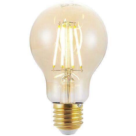 Bombilla LED E27 A60 6.5W 2.500K ámbar atenuador