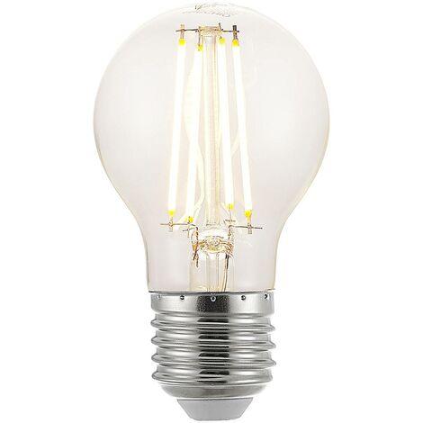 Bombilla LED E27 A60 6,5W 2.700K transparente
