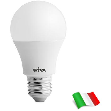 Bombilla LED E27 A60 8W 3000K° Wiva