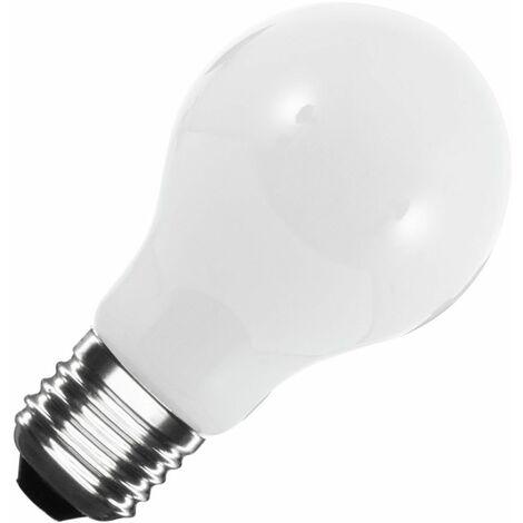 Bombilla LED E27 Casquillo Gordo A60 Glass 8W Blanco Cálido 2800K - 3200K