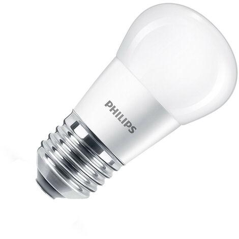 Blister Bombilla LED E27 Casquillo Gordo P45 5.5W (3 un) Blanco Cálido 2700K