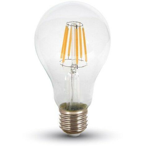 Bombilla LED 10W E27 Filamento blanco neutro 4500k Eq 75Watts
