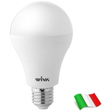 Bombilla LED E27 A70 20W 3000K° Wiva