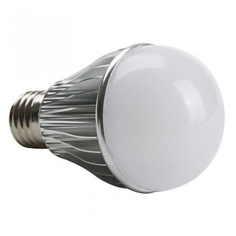 BOMBILLA LED E27 ALUMINIO 5W