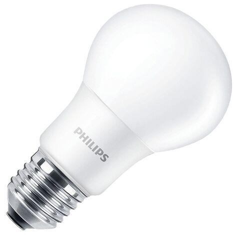 Bombilla LED E27 Casquillo Gordo A60 CorePro 8W Blanco Cálido 2700K