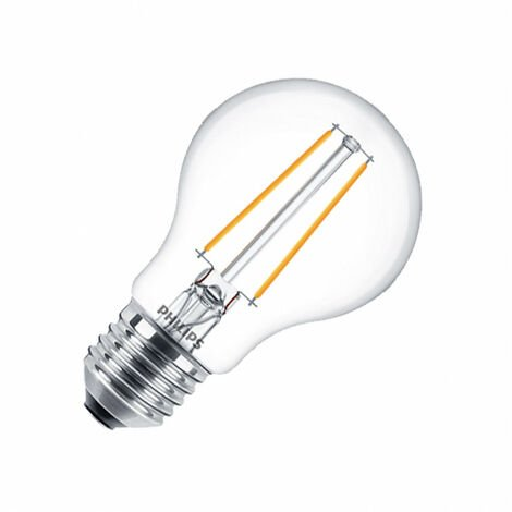 Bombilla LED E27 Casquillo Gordo A60 Filamento CLA Classic 4.5W Blanco Cálido 2700K