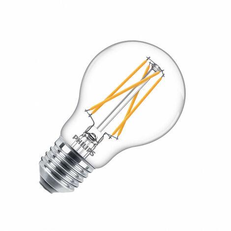 Bombilla LED E27 Casquillo Gordo A60 Regulable Filamento CLA Classic 6,7W (CRI 90) True Color Blanco Cálido 2200 - 2700K