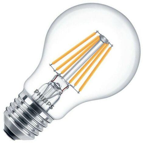 Bombilla LED E27 Casquillo Gordo A60 Regulable Filamento CLA Classic 8W Blanco Cálido 2700K