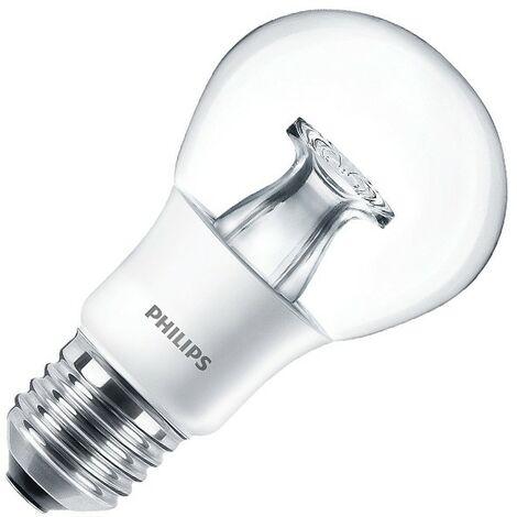 Bombilla LED E27 Casquillo Gordo A60 Regulable Master DT 6W Blanco Cálido 2700K . - Blanc Chaud 2700K