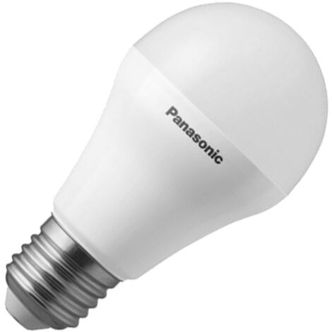 Bombilla LED E27 Casquillo Gordo G45 PANASONIC Frost Bulbo 10,5W Blanco Cálido 3000K - Blanco Cálido 3000K