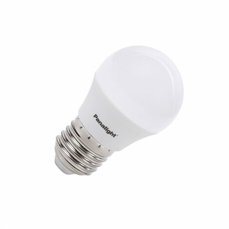 Bombilla LED E27 Casquillo Gordo G45 PANASONIC PS Frost 4W Blanco Neutro 4500K