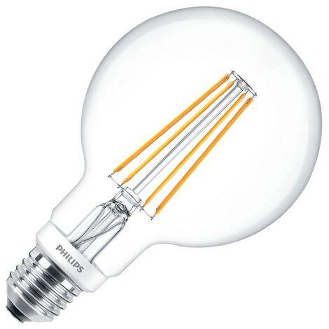 Bombilla LED E27 Casquillo Gordo G93 Regulable Filamento Globo CLA 8W Blanco Cálido 2700K