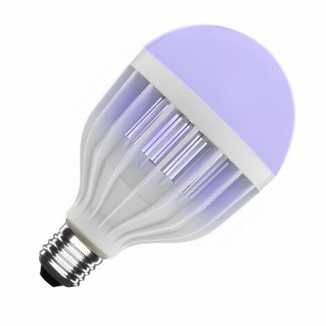 Bombilla LED E27 Casquillo Gordo Matamosquitos 2W Blanco