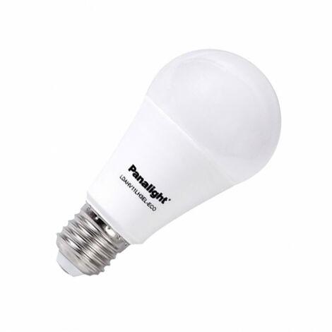 Bombilla LED E27 Casquillo Gordo PANASONIC Frost Bulbo 270º 11,5W Blanco Cálido 3000K