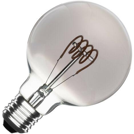 Bombilla LED E27 Casquillo Gordo Regulable Filamento Espiral Smoke Planet G95 4W Blanco Cálido 2000K - 2500K - Blanco Cálido 2000K - 2500K