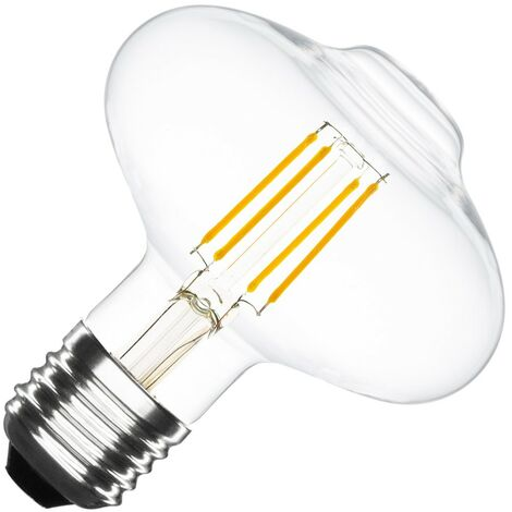 Bombilla LED E27 Casquillo Gordo Regulable Filamento Special Supreme G125 6W Blanco Cálido 2000K - 2500K . - Blanco Cálido 2000K - 2500K