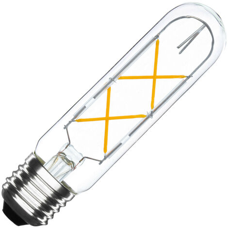 Bombilla LED E27 Casquillo Gordo Regulable Filamento T30-S 4W