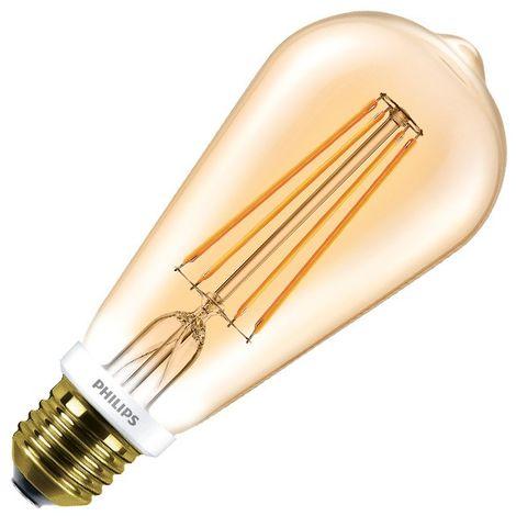 Bombilla LED E27 Casquillo Gordo ST64 Regulable Filamento Gold CLA Big Lemon 8W Blanco Cálido 2000K