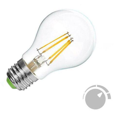 Bombilla Led E27 COB filamento 4W, Regulable