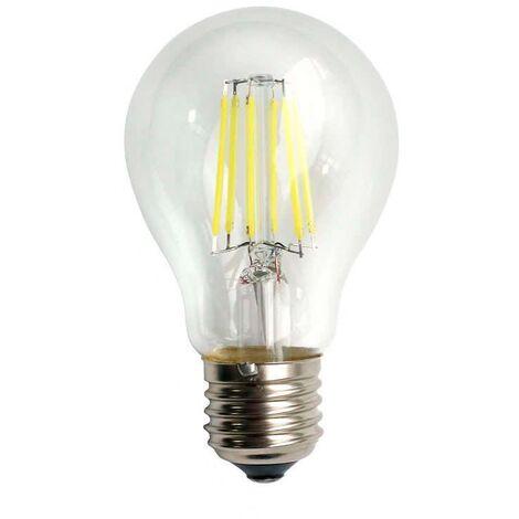 Bombilla LED E27 COB filamento 8W, Regulable