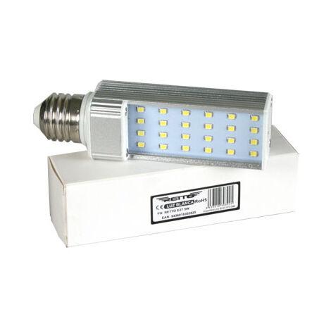 Bombilla led e27 down light corta 5w retto luz fria 500 lumens luz color 6000k
