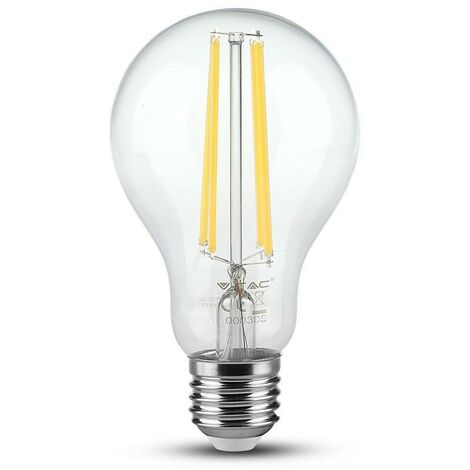 Bombilla LED E27 filamento A70 12.5W