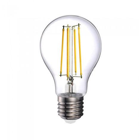 Bombilla LED E27 filamento A70 12.5W Temperatura de color - 6500K Blanco Frío