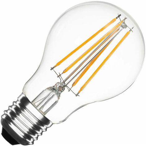 Bombilla LED E27 Casquillo Gordo Filamento Classic A60 5.5W Blanco Cálido 2000K - 2500K