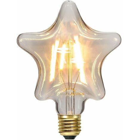 Bombilla LED E27 Filamento Estrella