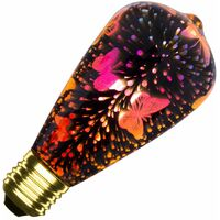 Bombilla LED E27 Filamento Glint Big Lemon ST64 3.5W Fancy Effect