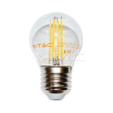 Bombilla LED E27 filamento Globo G45 4W