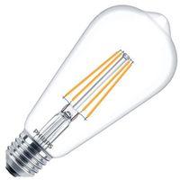 Bombilla LED E27 Filamento PHILIPS CLA Big Lemon ST64 7W Blanco Cálido 2700K